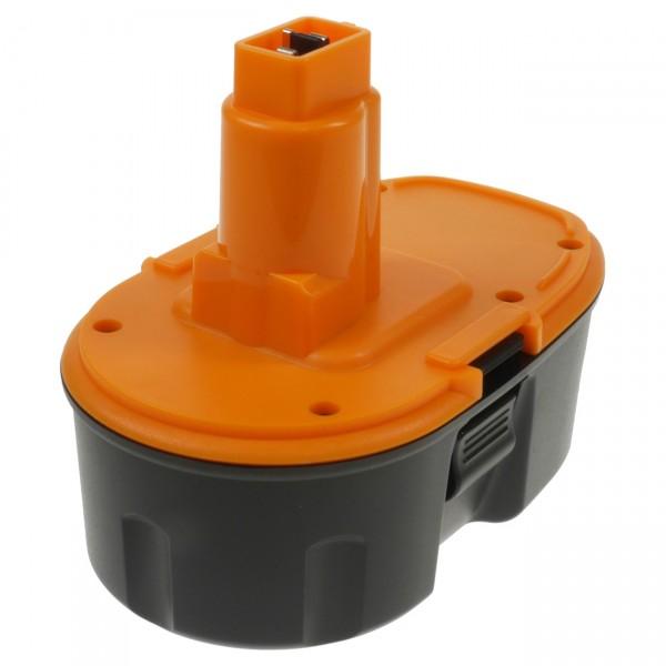 XCell Werkzeug Akku für Dewalt DE9039 DW9095 DW9096 - 18V / 2000mAh / NIMH PREMIUM Werkzeugakku