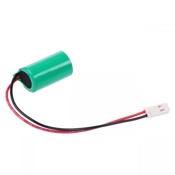 Varta Lithium Batterie CR1/2AA - 3V / 950mAh / 3 Volt Batterie mit AMP-BUCHSE