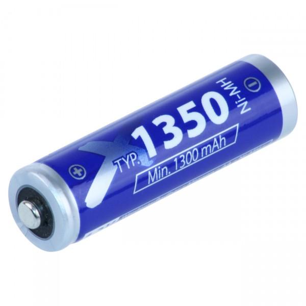 4er Pack XCell Mignon ECO Akku - 1,2V / 1350mAh / NIMH - 1,2 Volt AA Ni-MH