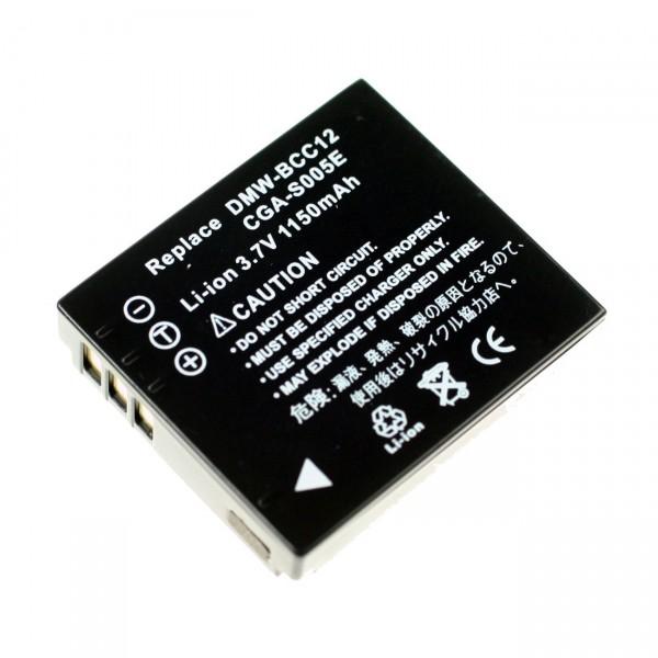 Digicamakku Li-Ion 3,7V / 1000mAh Panasonic CGA-S005E/ Fuji NP70 DMW-BCC12 B21068