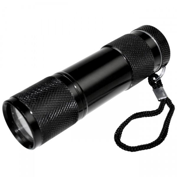 Arcas 9-LED Taschenlampe inkl. 3x AAA Micro Batterien