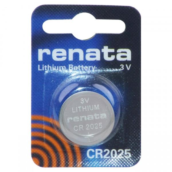 Renata Lithium Batterie Knopfzelle CR2025