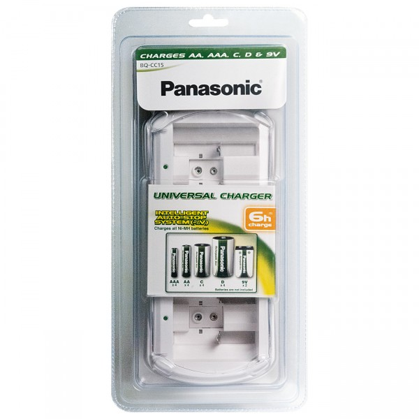 Panasonic Universalladegerät BQ-CC15 unbestückt