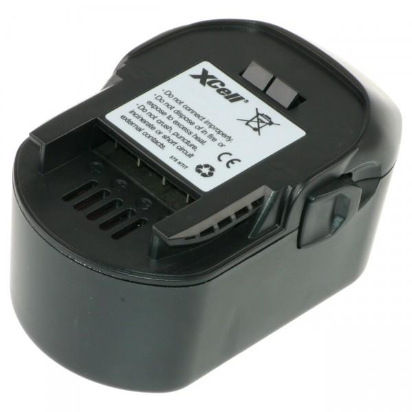 XCell Ersatzakku für AEG M1430R 14,4V / 3000 mAh