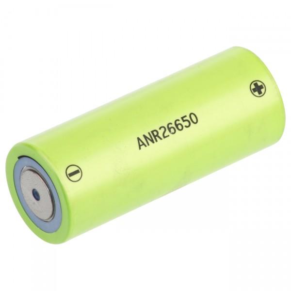 A123 flattop Batterie 26650 - 3,3V / 2500mAh - B-GRADE - 3,3 Volt LiFePo4