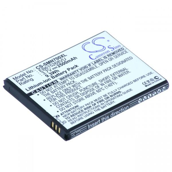 Handyakku Li-Ion 3,7V / 2500mAh für Samsung Galaxy Note EB615268VU / EB615268VUCST