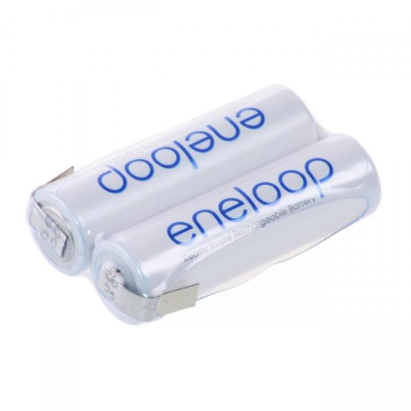 eneloop Akkupack F1x2 Reihe mit LF Zelle - 2,4 V / 2000mAh / NIMH - 2,4 Volt AA Ni-Mh Akku