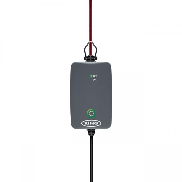 Ring Smart Battery Charger RESC701 1A Ladungserhalt für 6V und 12V Batterien