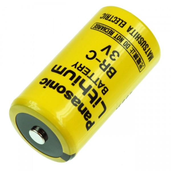 Panasonic Lithium Batterie BR-C Baby C - Zelle - 3V / 5000 mAh - 3 Volt Industriebatterien