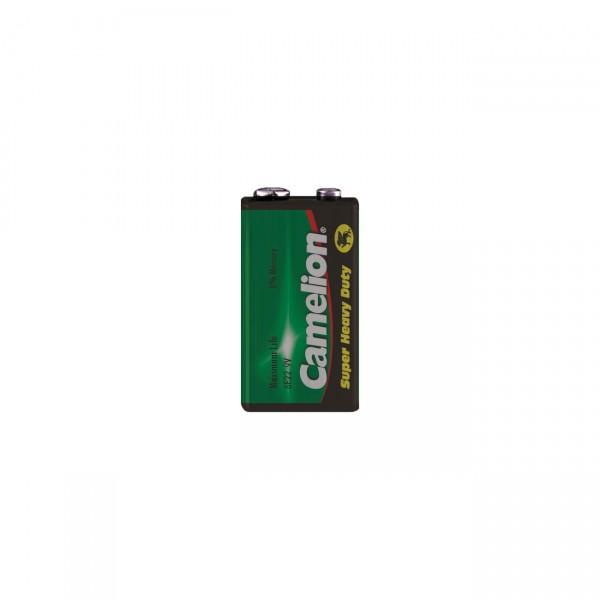 Camelion 6F22 9V-Block Batterie - 9V / 450mAh - 9 Volt 6AM6 Zink Kohle Blockbatterie