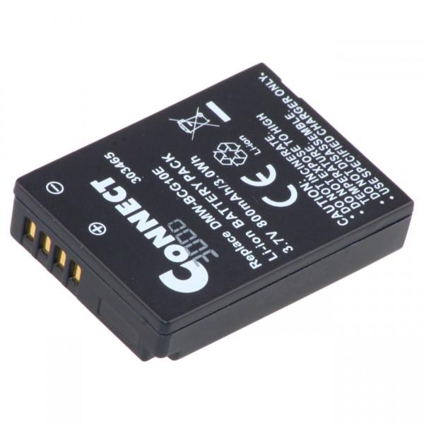 Digital Kamera Ersatzakku - 3,7V / 860mAh / Li-Ion - Akku für Panasonic DMW-BCG10E / DMC-TZ6 / DMC-T