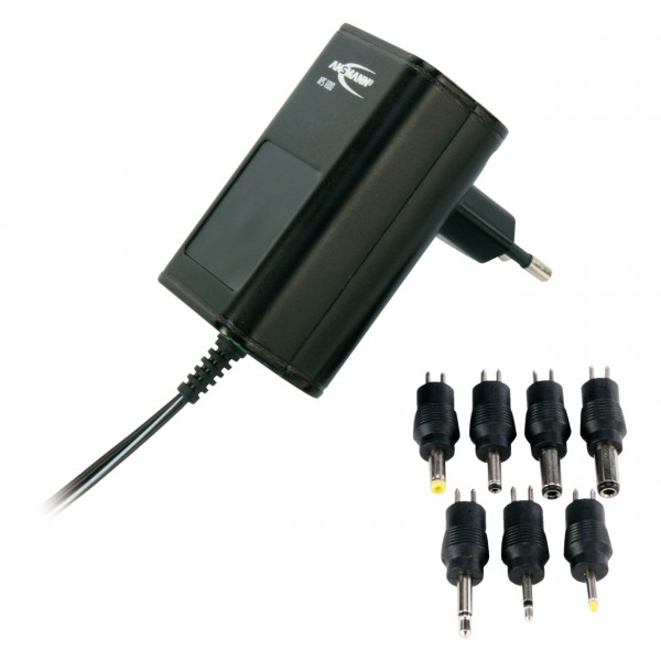Ansmann APS 1000 Steckernetzgerät 3-12V - Universal Ladegerät / Stecker