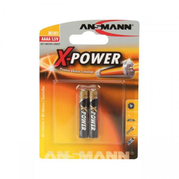 Ansmann AAAA X-POWER 2er Blister