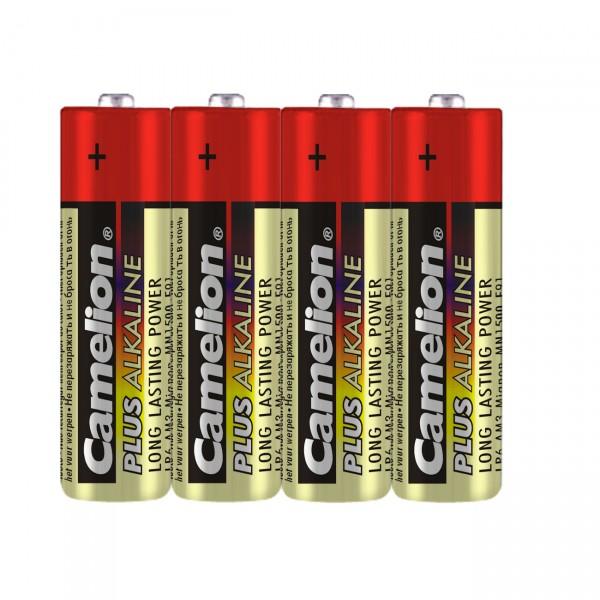Camelion LR6 Plus Alkaline Mignon Batterie 4er Folie