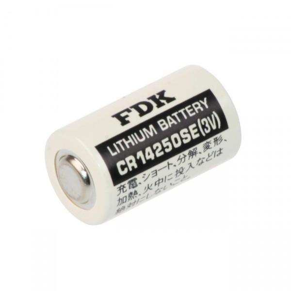 FDK Lithium 3V Batterie CR 14250SE 1/2AA - Zelle - 3 Volt / 2400mAh