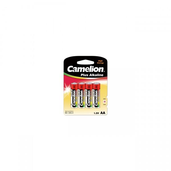 Camelion LR6 Plus Alkaline Mignon Batterie 4er Blister