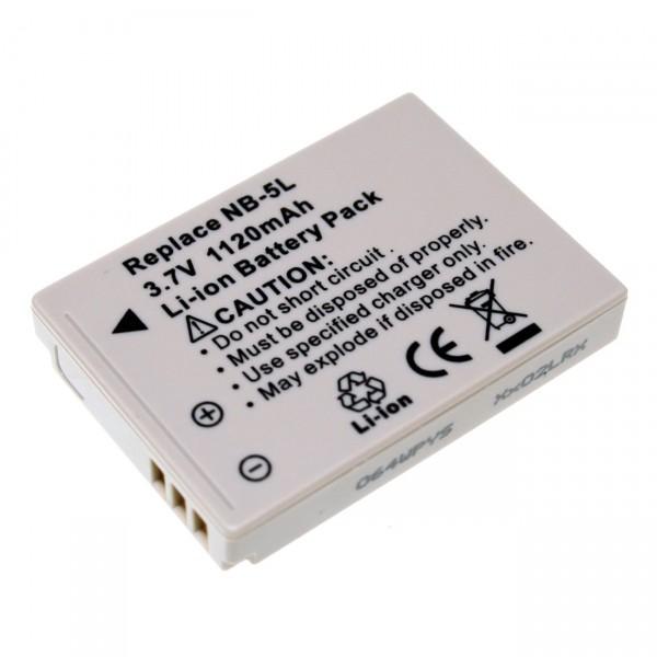 Digicamakku Li-Ion 3,7V / 900mAh Canon NB5L Digital Ixus 800IS B21105
