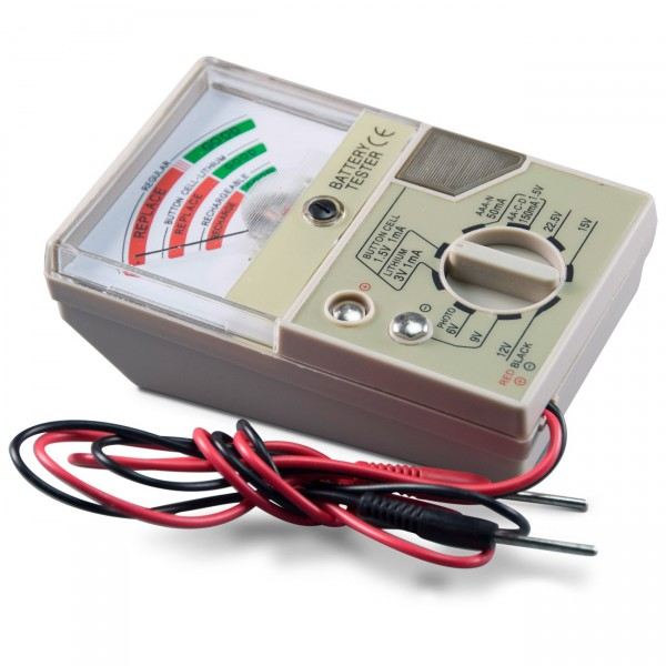 Becocell Batterietester T934 für Akku und Batterien