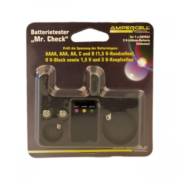 Ampercell Batterietester Mr. Check