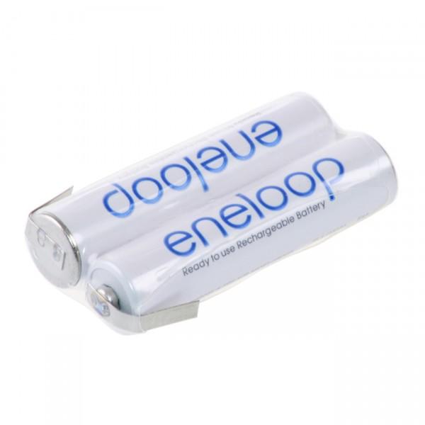 eneloop Akkupack F1x2 Reihe mit LF - 2,4 V / 800mAh / NIMH - 2,4 Volt Ni-Mh