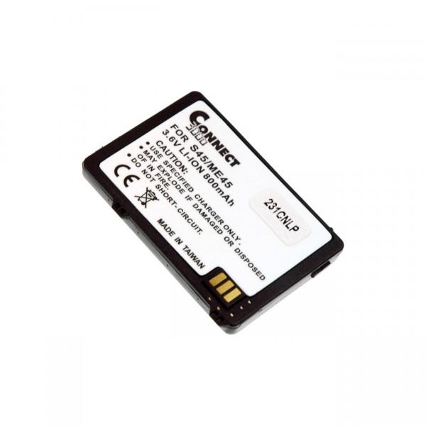Handyakku Lithium - 3,7V / 900mAh / Li-Ion - Akku für Siemens S45 / S45i / ME45 / B6846 / V30145-K13