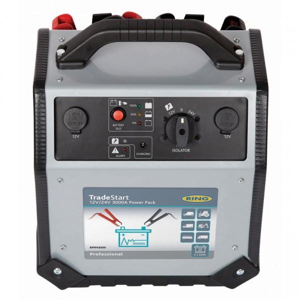 Ring TradeStart 3000 Power Pack Kfz-Starthilfe 12V/24V 3000A