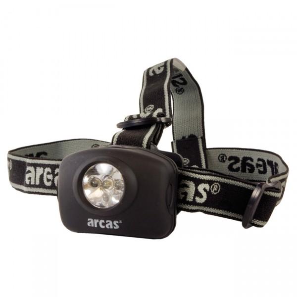 Arcas Stirnleuchte 5 LED inkl. 3 AAA Batterien