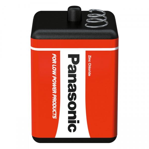 Panasonic 4R25 Batterie Block - 6V / 9000mAh ( 9 AH ) - 6 Volt Blockbatterie für Baustellenlampe