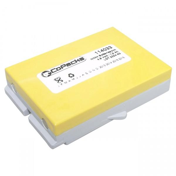 Ersatzakku Funkfernsteuerung für Ikusi BT06K z.B. T70/1, etc.