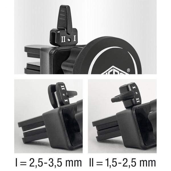 """WEDO """"Dock it"""" Smartphone Magnethalter für KFZ Lüftungsschlitze"""