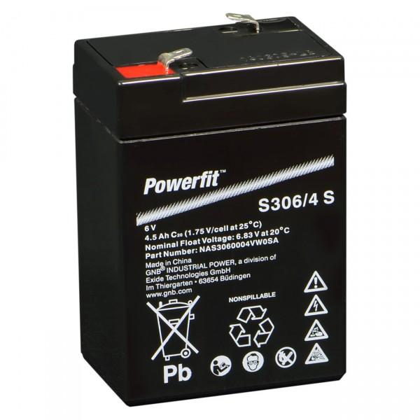 Sonnenschein Powerfit S306/4S Faston 4,8