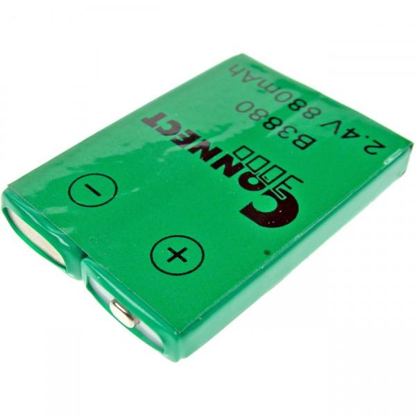 Telefon Akku Siemens - 2,4V / 830mAh Ni-MH - Siemens Pocket 2000C / 3000 / 3010 DETEWEOpenPhone21 /