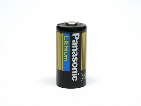 Panasonic 10er Pack CR123 / CR123A Lithium Hochleistungs- Batterie für professionelle Anwendungen -