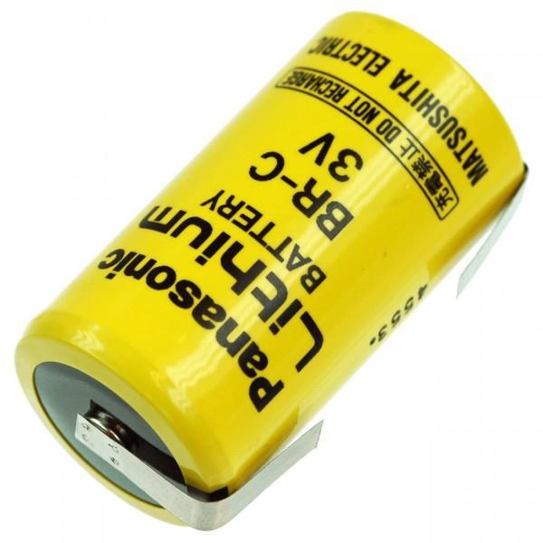Panasonic Lithium 3V Batterie BR-C C - Zelle LF U-Form GEFAHRGUT