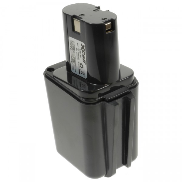 XCell Werkzeugakku für Bosch 2607335176 / 0702300196 - 9,6V / 2000mAh NIMH - 9,6 Volt Ersatz Akku