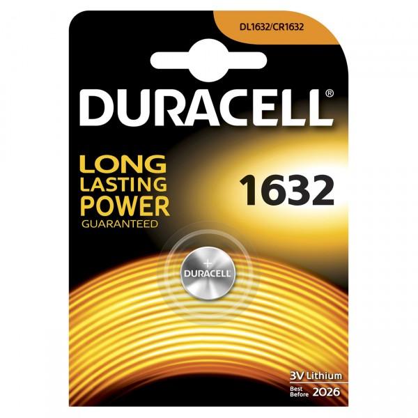 Duracell Lithium-Knopfzelle CR1632 Lithium 3V