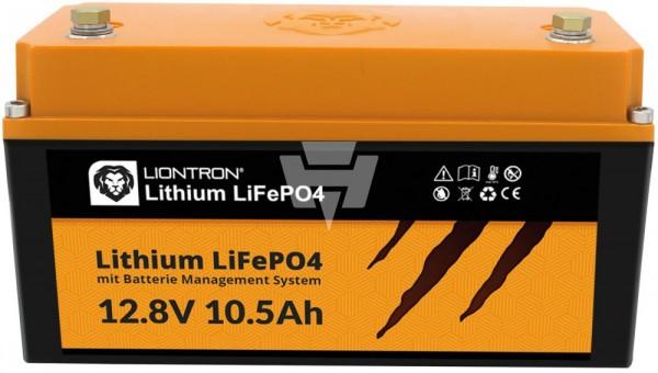Liontron LiFePO4 Akku 12V / 12,8V 10,5Ah
