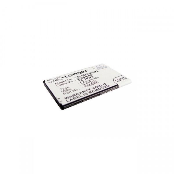 Handyakku für Samsung Galaxy Note 3 B800BE, B800BU, B800BK