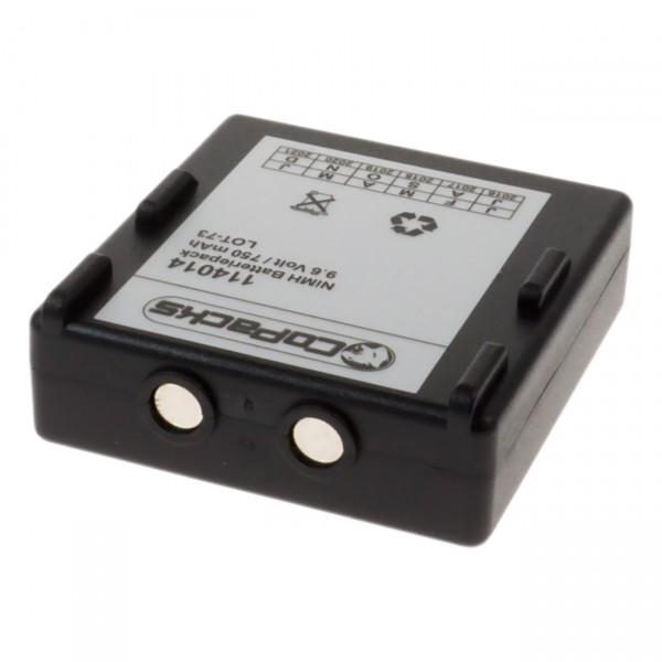 Ersatzakku Funkfernsteuerung für Hetronic/Abitron FBH900 z.B. 68300520, etc.