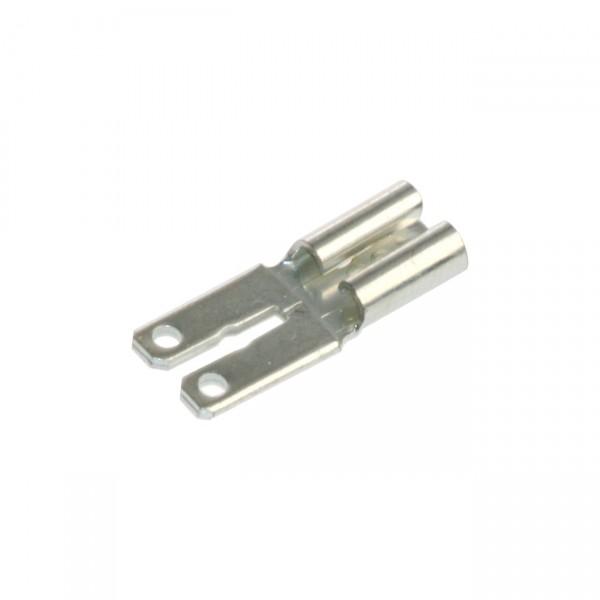 Adapter von Faston 4,8 auf Faston 6,3mm Aufsatz zur Erweiterung