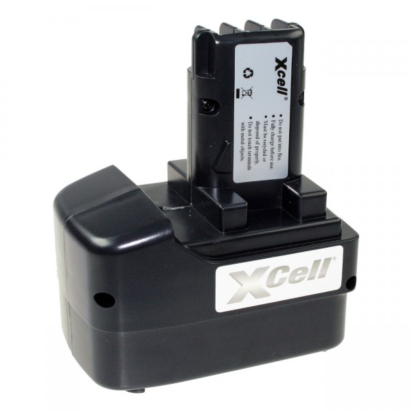 XCell Werkzeugakku für Metabo - 12V / 3000mAh NIMH - 12 Volt - PREMIUM Werkzeugakku