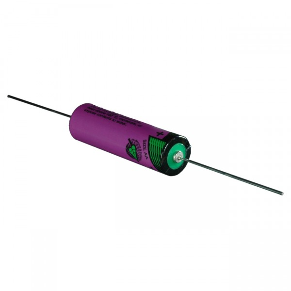 Tadiran Lithium Batterie m. Axialdraht - SL 760/P - 3,6V / 2200mAh / LISOCI2 - 3,6 Volt AA