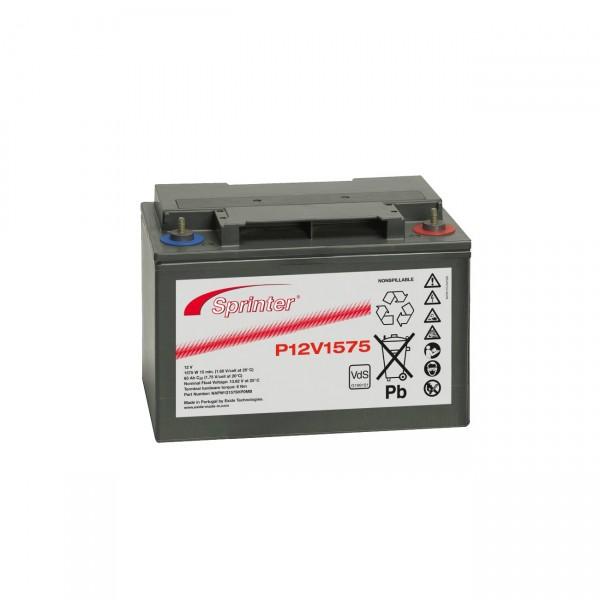 Exide Sprinter Blei-Akku - P12V1575 - 12V / 65Ah Pb - Bleiakku mit VdS Zulassung und M6 Innengewinde