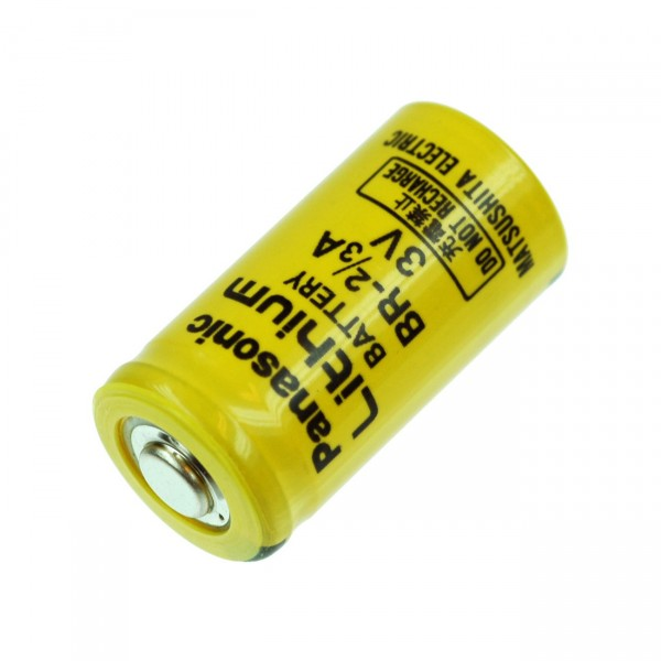 Panasonic Lithium Batterie - 3V / 1200mAh - BR 2/3AN / 2/3A Zelle