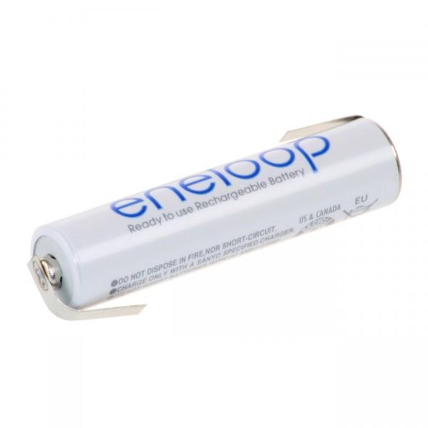 eneloop Micro Industrie - Akku mit Lötfahne Z-Form - 1,2V / 800mAh NIMH - 1,2 Volt AAA Ni-MH