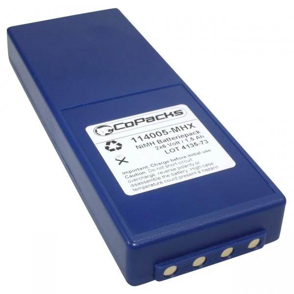 Ersatzakku Funkfernsteuerung für HBC FUB10A z.B. BA211060, etc.