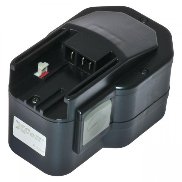 XCell Ersatzakku für Milwaukee - 14,4V / 3000mAh / NIMH - 48-11-1024 - Werkzeugakku BCL14.4