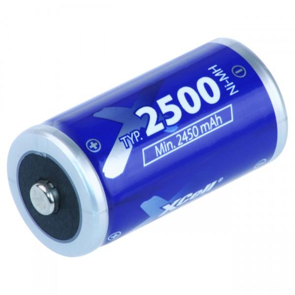 XCell Baby C ECO Akku - 1,2V / 2500mAh / NIMH - 1,2 Volt Ni-MH BabyC