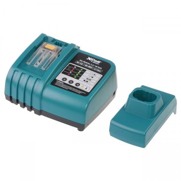 XCell X-MAK01 Ladegerät für Makita von 7,2V - 18V - Ni-Cd/Ni-MH/Li-Ion Werkzeugakkus