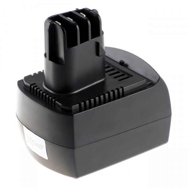 XCell Ersatz Akku für Metabo 625471 - 12V / 3000mAh / Li-Ion - 12 Volt Lithium Werkzeugakku